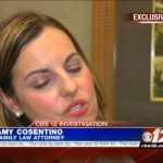 News Channel 12's Peter Schaller interview's our Family Law Attorney Amy Cosentino